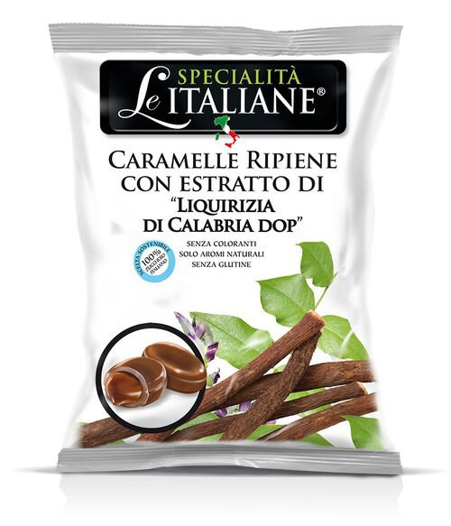 Licorice Of Calabria Pdo Soft Toffees (3.52  Oz | 100 g)