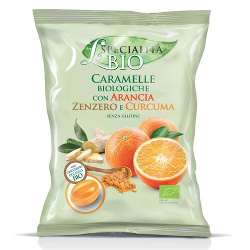 Organic Orange, Ginger & Turmeric Filled Candy (2.82 Oz | 80 g)