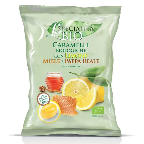 Organic Lemon, Honey & Royal Jelly Filled Candy (2.82 Oz | 80 g)