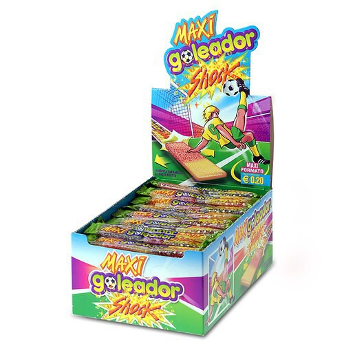 Goleador Shock (Sour) 130 Pc. Counter Display