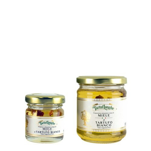 Acacia Honey With White Truffle Slices (Tuber magnatum Pico)
