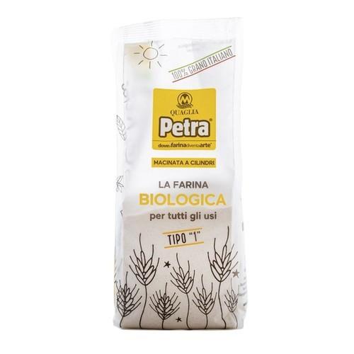 "Petra Organic ""Type 1"" Italian Stone-Ground Flour (17.6  Oz | 500 g)"