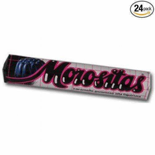 Morositas Sugarfree Licorice Gummies (24 Sticks)