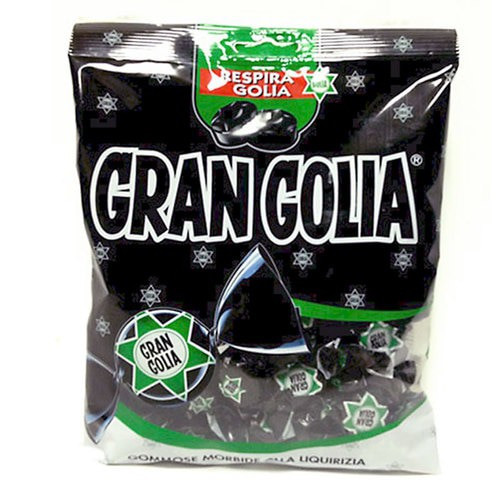 Gran Golia Licorice Gummy (6.35 Oz Bag)