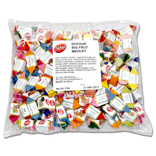 Big Frut Assorted Fruit Jellies (2Lb. Pick'N'Mix Bag)