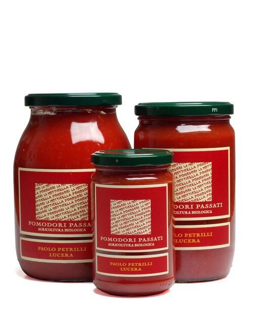 Organic Strained Tomatoes (Tomato Passata | Pomodori Passati)