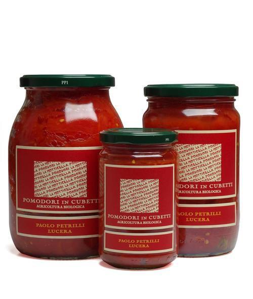 Organic Diced Tomatoes (Pomodori Cubettati)