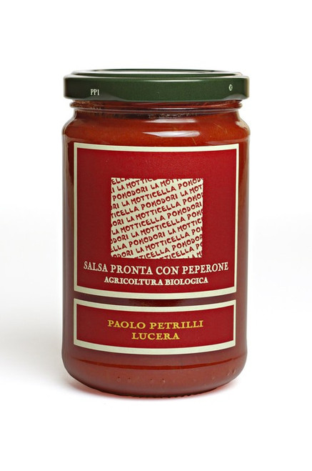 Organic Marinara Sauce with Bell Peppers 10.6 Oz