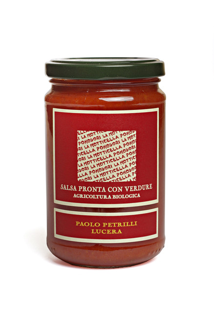Organic Tomato Sauce with Vegetables 10.6 oz.