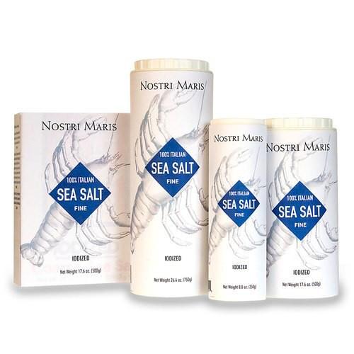 100% Italian Sea Salt