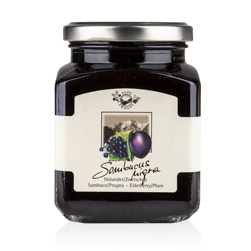 Premium Elderberry & Plum Preserves