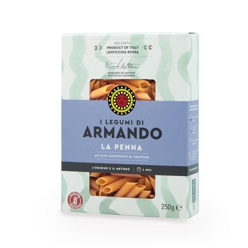 Red Lentil Gluten Free Penne Pasta (8.8 Oz Box)