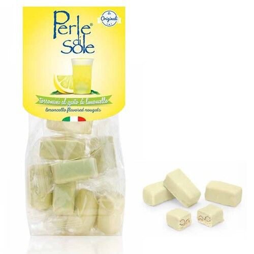 White Chocholate-dipped Limoncello Nougats (5.3 oz.)