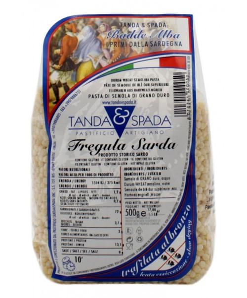 Fregula Sarda Tostata Fina (17.6  Oz | 500g)