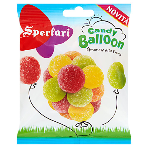 Sperlari Candy Balloon Fruit Flavored Gummies (5.64 Oz)