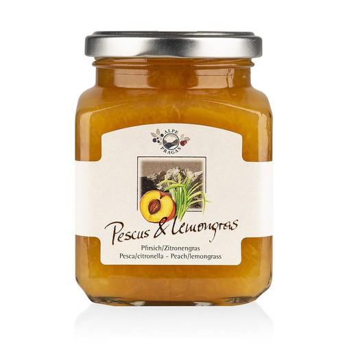 Premium Peach & Lemongrass Preserves
