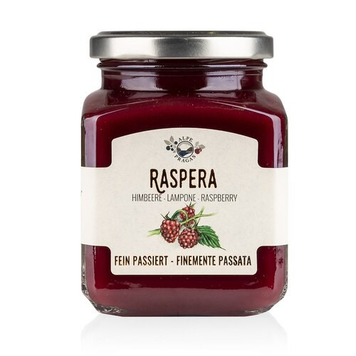 Premium Finely Strained Raspberry Preserves