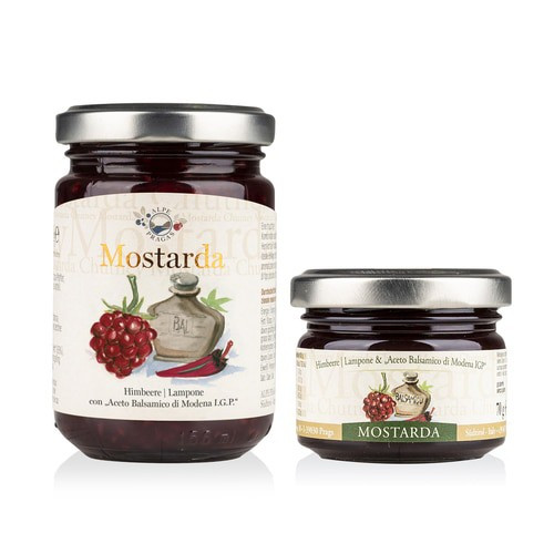 Raspberry And Balsamic Vinegar From Modena Chutney