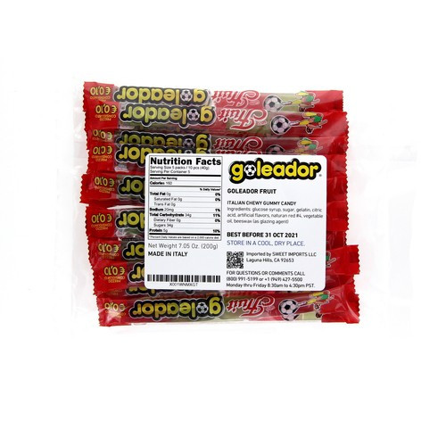 Goleador Fruit Pick'N'Pack (7.05  Oz | 200 g)