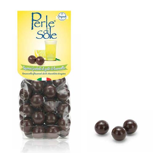 Dark Chocolate Limoncello Dragees (5.3 Oz | 150 g)