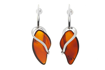 Amber Statement Earrings