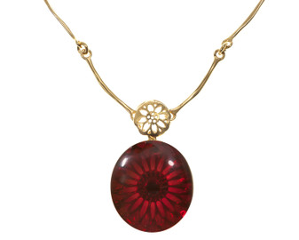 Cherry red Amber Necklace