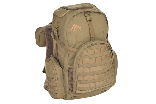 Coyote Brown - Kelty Raven 2500 backpack, front view