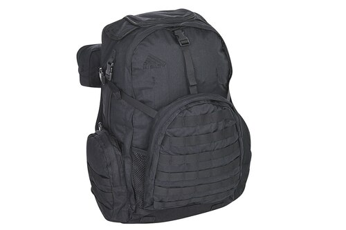 Black - Kelty Raven 2500 backpack, front view