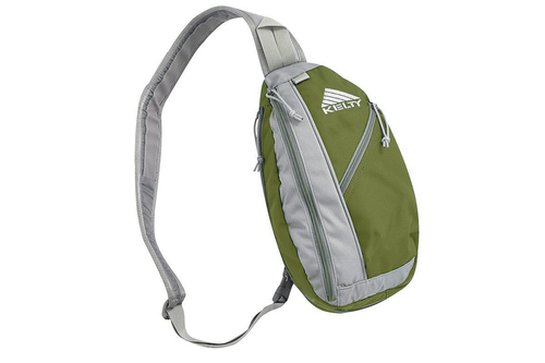 Green/Gray - Kelty Sling Bag, right hand version