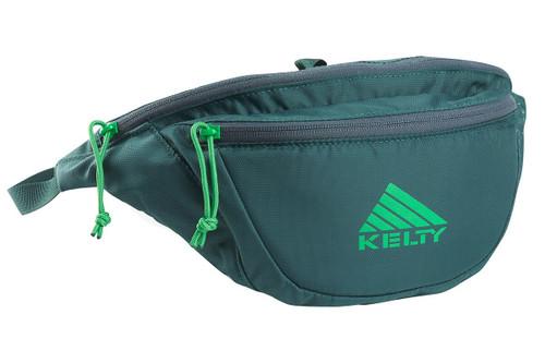 Ponderosa Pine - Kelty Warbler waist pack, shown fully zipped