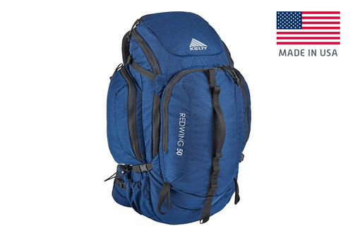 Indigo Blue - Kelty Redwing 50 USA backpack, front view