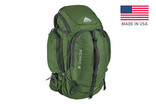 Foliage Green - Kelty Redwing 50 USA backpack, front view