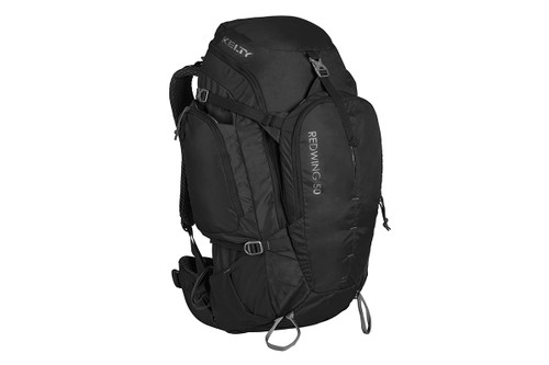 Black - Kelty Redwing 50 backpack, front view