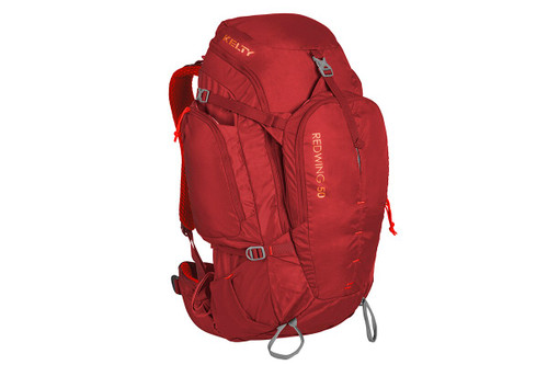 Garnet Red - Kelty Redwing 50 backpack, front view