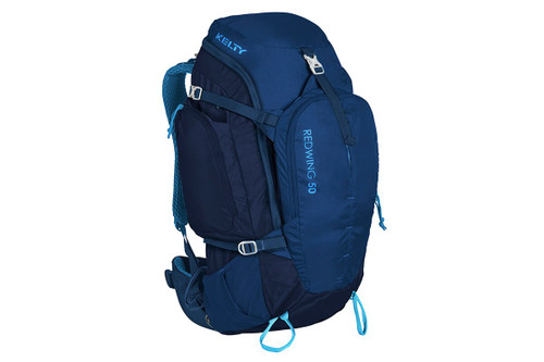 Twilight Blue - Kelty Redwing 50 backpack, front view