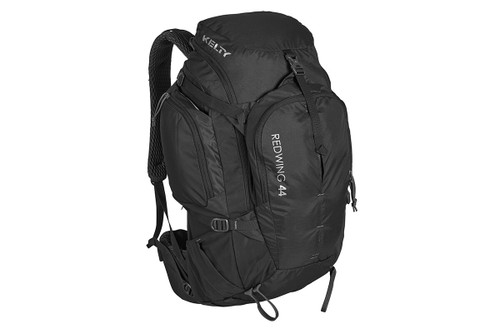 Black - Kelty Redwing 44 backpack, front view