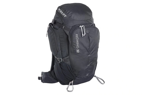 Black - Kelty Redwing 32 backpack, front view