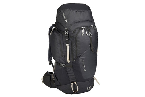 Black - Kelty Coyote 80 backpack, front view