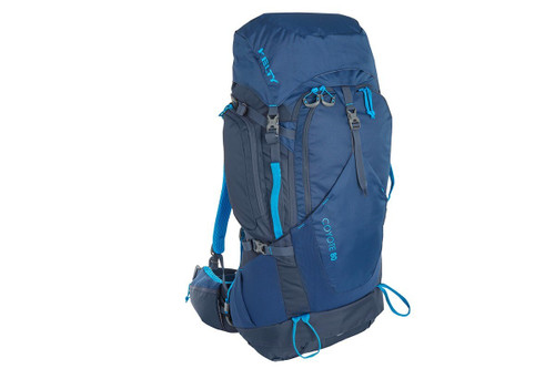 Twilight Blue - Kelty Coyote 80 backpack, front view