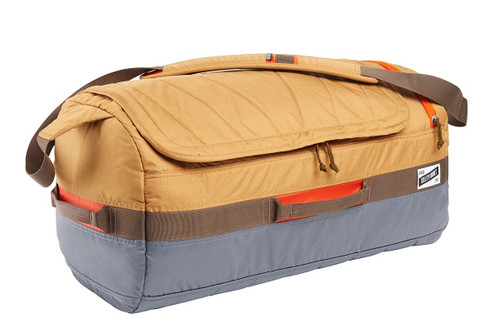 Canyon Brown/Castle Rock - Kelty Dodger Duffel bag, front view