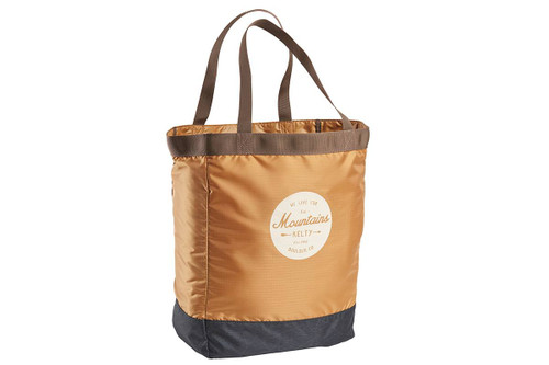 Canyon Brown/Black Geo-Heather - Kelty Totes Tote, front view