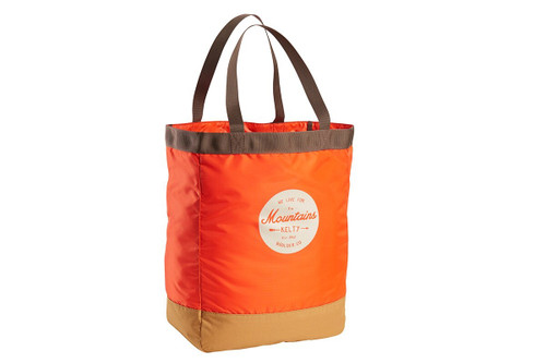 Fire Orange/Canyon Brown - Kelty Totes Tote, front view