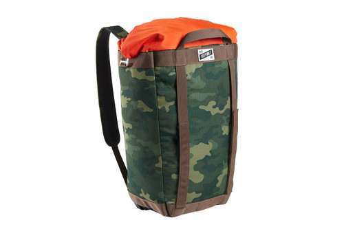 Green Camo - Kelty Hyphen Pack-Tote, front view, in backpack mode