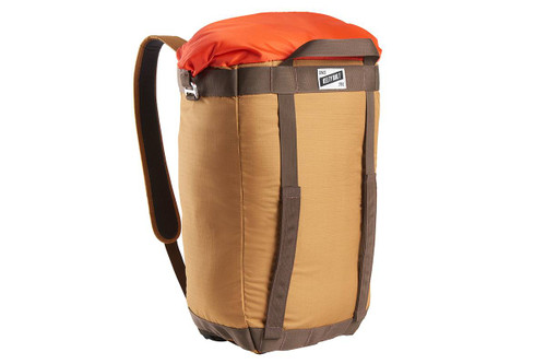 Canyon Brown - Kelty Hyphen Pack-Tote, front view, in backpack mode
