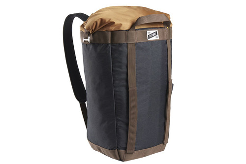Black Geo-Heather - Kelty Hyphen Pack-Tote, front view, in backpack mode