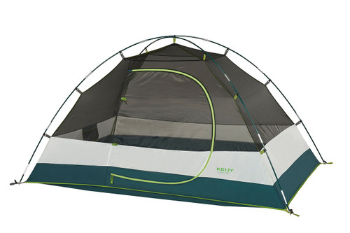 Kelty Outback 2 tent, white/green, shown with rain fly removed