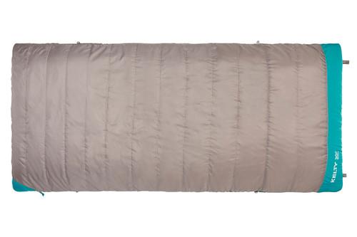 Kelty Women's Callisto 30 sleeping bag, taupe, shown fully zipped
