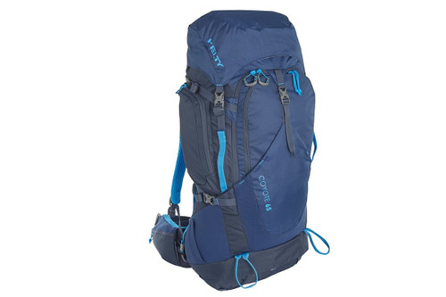 Twilight Blue - Kelty Coyote 65 backpack, front view