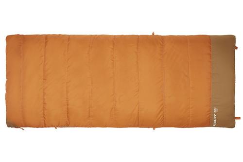 Kelty Callisto 30 sleeping bag, orange, closed