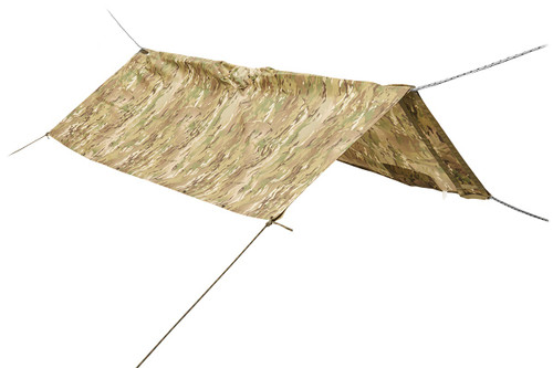 Kelty Field Craft Poncho FR in shelter mode